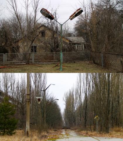 lighting chernobyl