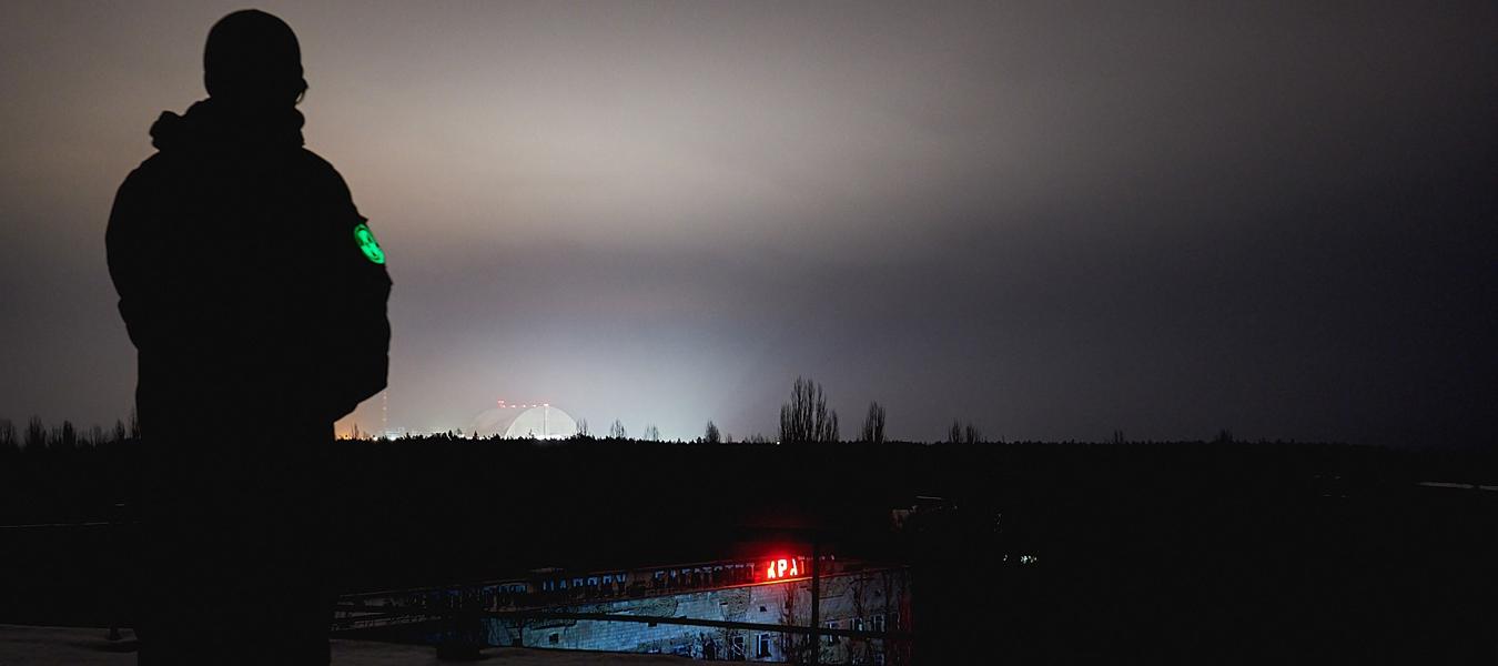 Tchernobyl : les lumières de Prypiat se sont rallumées